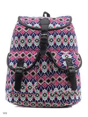 Рюкзак Punta. Цвет: темно-синий, розовый