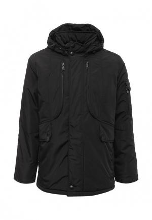 Куртка утепленная Xaska. Цвет: черный