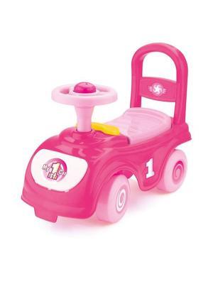 Мой первый автомобиль-каталка розовый Dolu.. Цвет: розовый