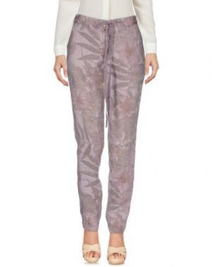 Повседневные брюки VIA MASINI 80. Цвет: розовый