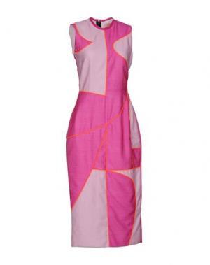 Платье длиной 3/4 ROKSANDA. Цвет: розовато-лиловый