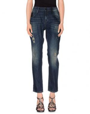 Джинсовые брюки STAFF JEANS & CO.. Цвет: синий