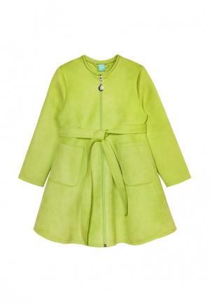 Пальто AnyKids. Цвет: зеленый