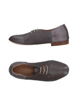 Обувь на шнурках KUDETÀ. Цвет: серый