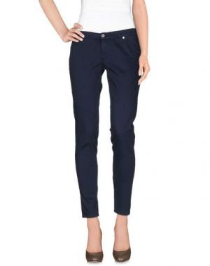Повседневные брюки TAKE-TWO. Цвет: синий