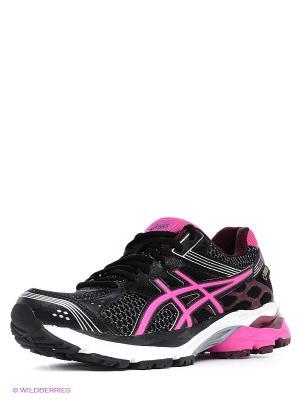 Беговые кроссовки Gel-Pulse 7 G-Tx ASICS. Цвет: черный, розовый