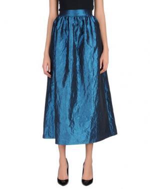 Длинная юбка ODI ET AMO. Цвет: синий