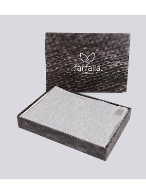 Плед Farfalla. Цвет: серый