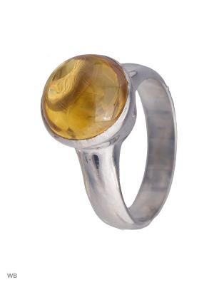 Кольцо Мастер Клио. Цвет: серебристый, желтый