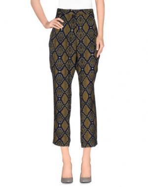Повседневные брюки LAURENCE DOLIGÉ. Цвет: охра