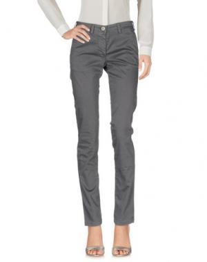 Повседневные брюки VERYSIMPLE. Цвет: свинцово-серый