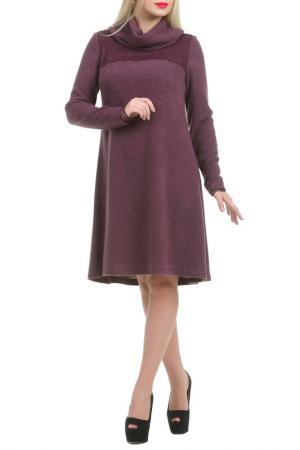 Платье Сэбия LESYA. Цвет: фиолетовый