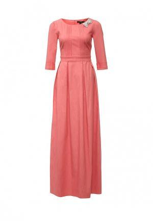 Платье Piena. Цвет: коралловый