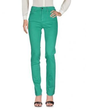 Повседневные брюки CIMARRON. Цвет: зеленый