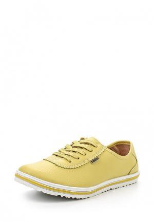Кеды Zenden Active. Цвет: желтый