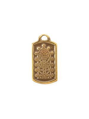 Амулет защитный Древо Мудрости Aztek. Цвет: желтый