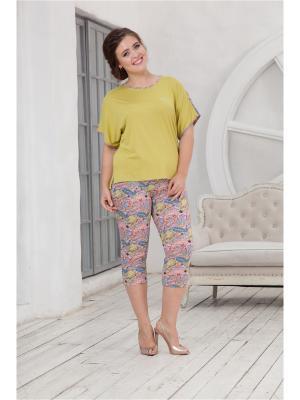 Комплект одежды CLEO. Цвет: оливковый, сиреневый