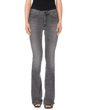 Джинсовые брюки SPACE STYLE CONCEPT. Цвет: серый