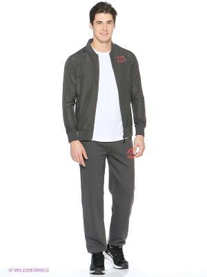 Куртка VARSITY STYLE JACKET ASICS. Цвет: темно-серый