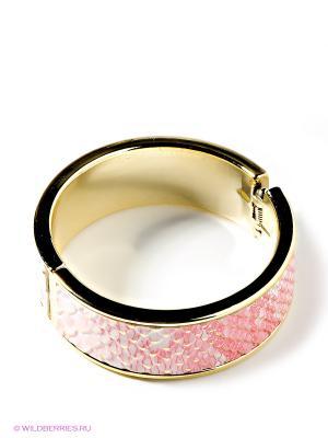 Браслет MONDIGO. Цвет: розовый, золотистый
