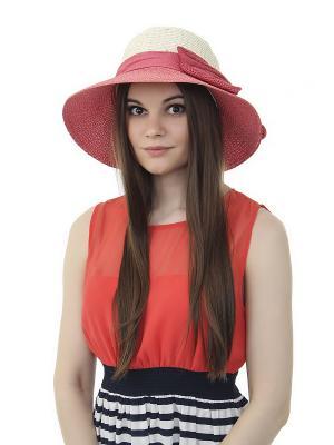 Шляпа Gusachi. Цвет: белый, бордовый, розовый