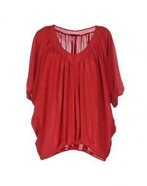 Блузка AXARA PARIS. Цвет: коралловый