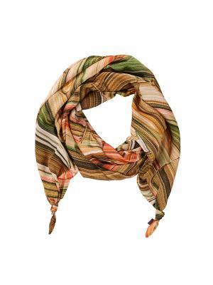 Платок Оланж Ассорти. Цвет: зеленый, коричневый