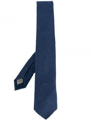 Классический галстук Canali. Цвет: синий