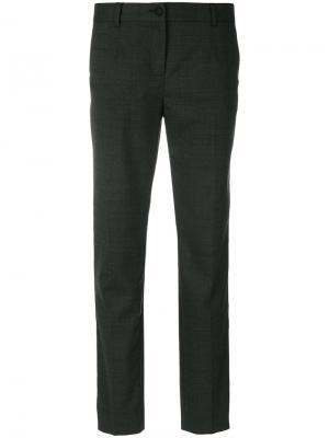 Укороченные брюки Dolce & Gabbana. Цвет: серый