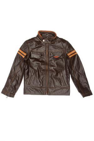 Куртка ASTON MARTIN. Цвет: коричневый