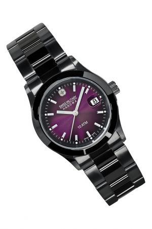 Наручные часы Swiss military. Цвет: фиолетовый