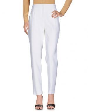 Повседневные брюки PALLAS. Цвет: белый