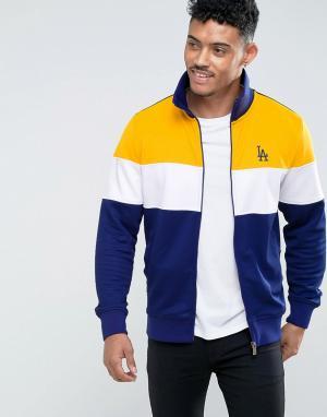 New Era Спортивная куртка L.A. Dodgers. Цвет: темно-синий