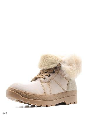 Ботинки DOCKERS.. Цвет: светло-бежевый