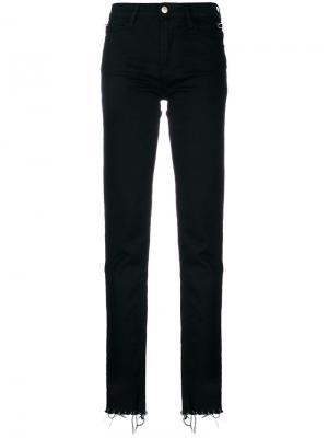 Декорированные брюки Alyx. Цвет: чёрный