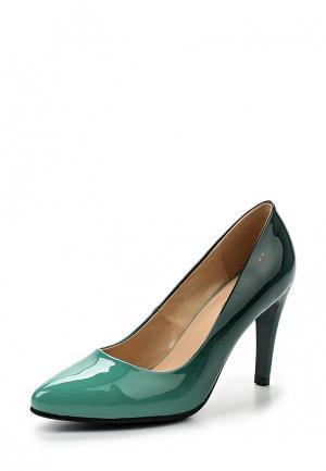 Туфли Gene. Цвет: зеленый