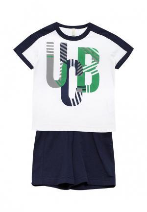 Костюм United Colors of Benetton. Цвет: разноцветный