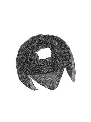 Платок Ethnica. Цвет: серый, черный