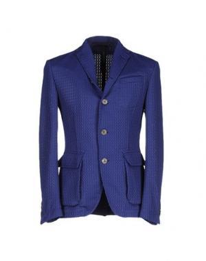 Пиджак MESSAGERIE. Цвет: синий
