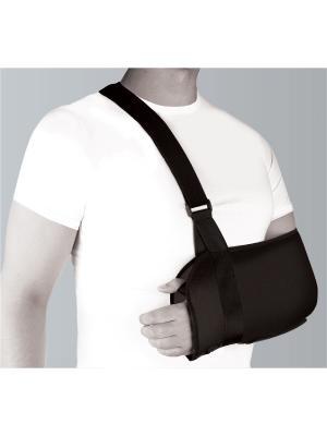 Бандаж компрессионный фиксирующий плечевой сустав и предплечье, Timed Timed.. Цвет: черный