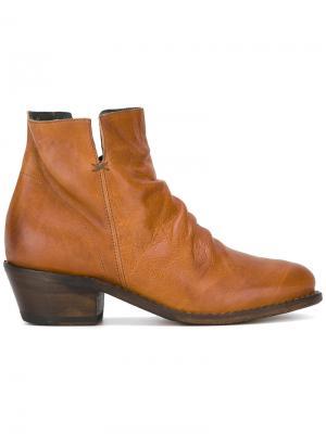 Ботинки по щиколотку Fiorentini +  Baker. Цвет: телесный