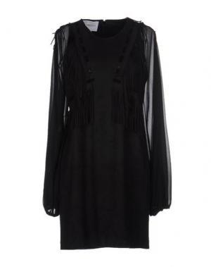 Короткое платье ANNARITA N TWENTY 4H. Цвет: черный