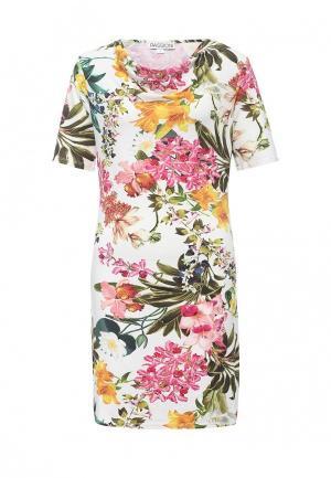Платье Passioni. Цвет: разноцветный