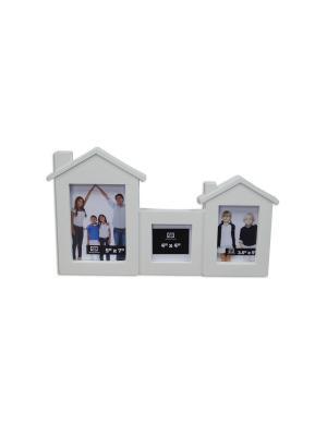Фоторамка декоративная Домашний уют Magic Home. Цвет: белый