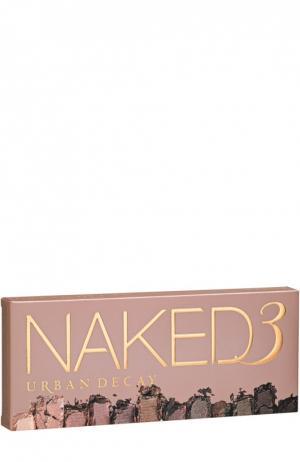 Палетка Naked 3 Urban Decay. Цвет: бесцветный