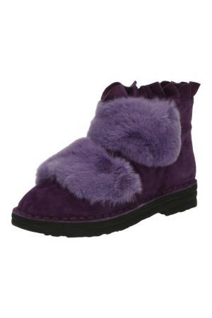 Ботинки Grand Style. Цвет: фиолетовый