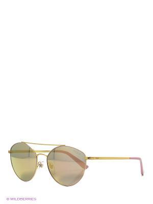 Очки солнцезащитные Vogue. Цвет: розовый