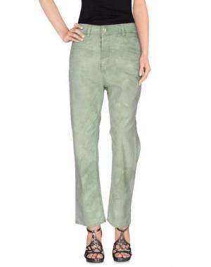 Джинсовые брюки 2TWO. Цвет: светло-зеленый