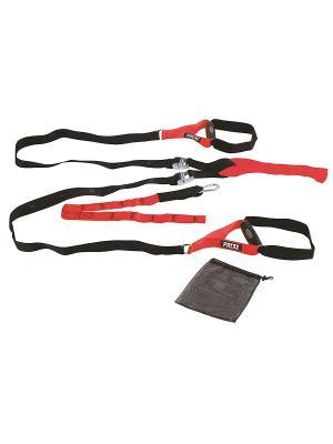 Ремни для функционального тренинга PRCTZ 0874CP-67 Iron Body. Цвет: черный, красный
