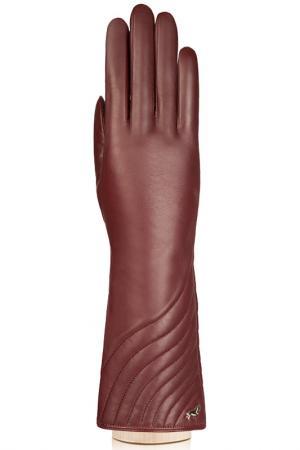 Перчатки Labbra. Цвет: темно-бордовый